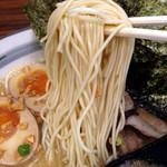 花火 - 花火ラーメン ネギチャ飯セット830円(麺)