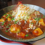 麺や 仁 - 麻婆カレー麺。