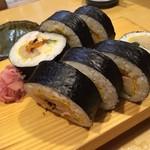 四季の味処 太 - 〆は名物のふとし巻き❗️