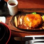 56969371 - Wチーズハンバーグステーキ定食