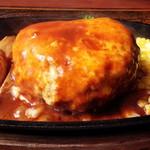 56969374 - Wチーズハンバーグステーキ定食
