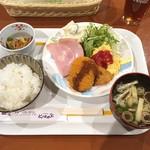サンホテル - 料理写真:ビジホモーニング❗️ 十分満足です(^^)