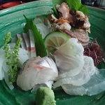 旅宿 よぶこ - 料理写真:刺身