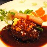 マルセイユ - 料理写真:ハンバーグ+ライス1250円