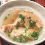 Ginzasakabamaruhachi - 京都久在屋 お揚げさんの出汁煮