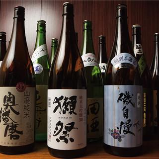 お酒も豊富に取り揃えております。