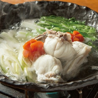 冬には鍋料理も取り揃えております