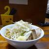 蓮爾 - 料理写真:小ラーメン 麺少なめヤサイニンニク