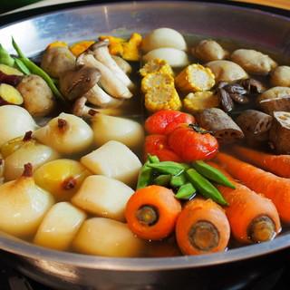 《名物》大鍋炊きの煮野菜