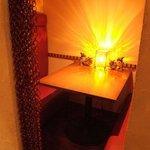 サザンウインドウ - 半地下個室のカップルシートはデートにオススメ☆