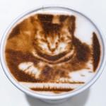 CROSSING CAFÉ - 写真からラテアート♡