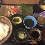 鍬焼きと日本酒 内山田 - ★★★☆ お造り御膳御膳