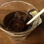 鍬焼きと日本酒 内山田 - ★★★☆ アイスコーヒー