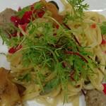 リストランテ ASO - 自家製ポルペッティと茸のタリオリーニ 柚子の香り