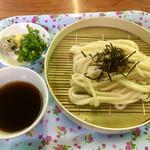 岡田うどん - 料理写真:ざるうどん( ◠‿◠ )350円