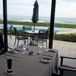 THE GUNJO RESTAURANT - 海のよく見えるテーブル席