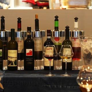 イタリア各地のナチュラルワインをお料理と共に