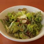 レストランひげじい - サラダバーのサラダ