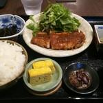 京の茶漬け 中目黒 魚とく - 京都ポークの生姜焼き 1000円