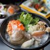 厳遊庭 - 料理写真:瀬戸内の魚介を海鮮鍋でいただく