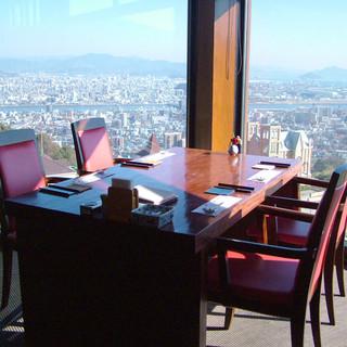広島市内が一望できる高台に佇む