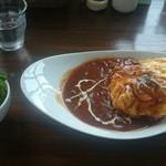 カフェ 楽 - 料理写真:オムハヤシ