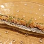 56994141 - 前菜① 秋刀魚と焼きナス
