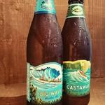 087cafe - Hawaiiのコナビール!のみやすいBigwaveとコクのあるCastaway♡
