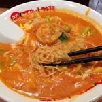 太陽のトマト麺  - エビクリームトマト麺