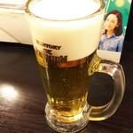 楠木フサヱ はなれ - 1610 楠木フサエはなれ ワンコインセット@500円(ビール)