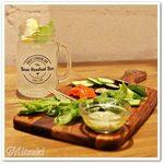 銀座バー GINZA300BAR NEXT - ラムレモネード / 季節の手づかみ野菜サラダ