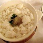揚州名菜 秦淮春 - 燕の巣のスープ芙蓉仕立て