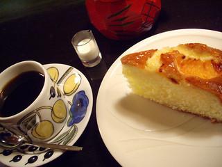 ランバン - ケーキセット(マイルド&オレンジ)_カフェ ランバン