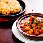 バルコス - 牛タンシチューとポルチーニ茸の焼きリゾット