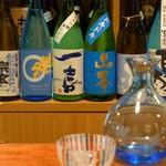 ひがし中野 しもみや - 日本酒のコース