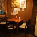 カフェ・サラマンジェ - 店内です。その2