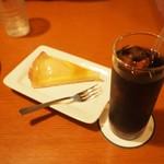 カフェ・サラマンジェ - 洋ナシのタルトです。