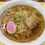 佐野サービスエリア(上り線) スナックコーナー - 佐野ラーメン(650円)