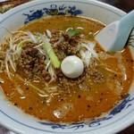 保原屋 - 料理写真:ごますりラーメン・餃子セット(500円) ごますりラーメン ※麺パスポート使用