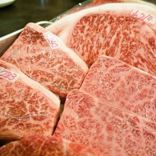 山形牛サーロインステーキ(串でも!)