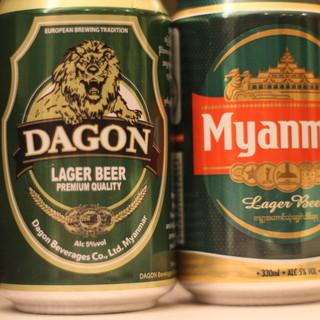 こだわりがある方も納得の品揃え。ミャンマーのビールもあり◎