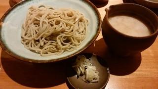 亀蔵 - 辛味おろし蕎麦 h28.10.5撮影