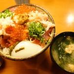 秋やま - 海鮮丼 大