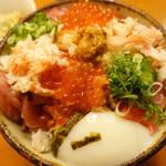秋やま - 海鮮丼 大 あーっぷ