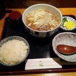57014287 - 肉豆腐定食