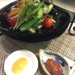 キッチンステージ - 味噌サラダソース2種