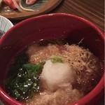 山桜 - 胡麻豆腐の揚げ出し