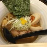 57017927 - 細麺らーめん+味玉