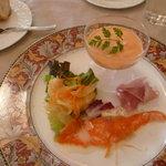 アン・ジャンヴィエ - 前菜の盛り合わせ