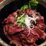 肉や すず - 【ランチ】上ハラミ丼